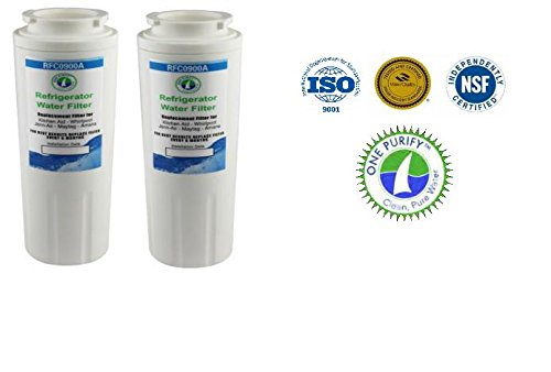 Rfc-900A Compatible Water Filter For Kenmore Models 469006, 469992, 469030; Maytag Models Ukf8001 And Ukf8001P; Amana 12527304, Ukf8001Axx, Ukf8001; Aqua Fresh Wf295 And Swift Green Sgf M10. (2) front-593138