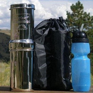 Berkey Gobk-Kit Go Kit With 1 Black Element, Generic Sport Water Filter And Vinyl Carrying Case