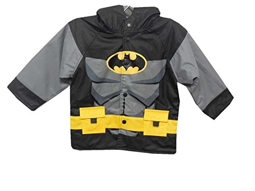 Boys Western Chief Batman Gotham Guardian Rain Coat, Black, 2T