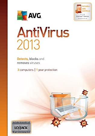 AVG Anti-Virus 2013, 3-User 1-Year [Download]