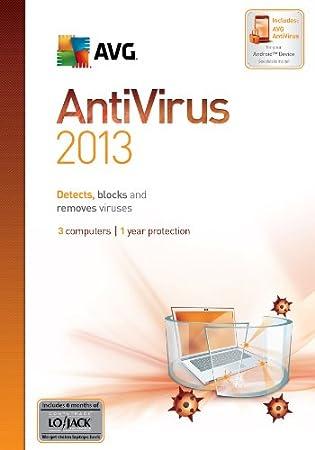 AVG Anti-Virus 2013, 3-User 1-Year [Download]