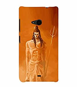 Shrikantha 3D Hard Polycarbonate Designer Back Case Cover for Nokia Lumia 535 :: Microsoft Lumia 535