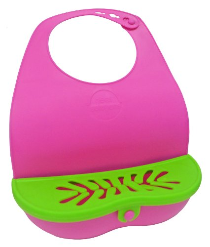 Neat Solutions Girl Lil' Snacker Bib, Girl