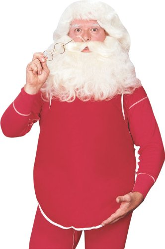 Rubie's Costume Fillable Santa Belly Costume