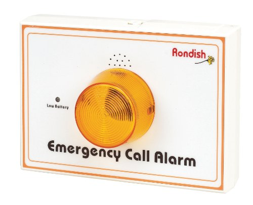 NRS Rondish Speaking Pager Falls & Wandering Prevention System - Wall Mounting Emergency Call Alarm