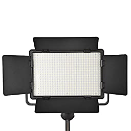 Bestlight® Photo Studio LED 500C 504 Pieces 3300~5600K Ultra High Power Dimmable Video Light with Built-in LCD Panel,Including 16CH Wireless Remote Control,for Canon, Nikon, Pentax, Panasonic, Sony, Samsung, Olympus and Other Digital DSLR Cameras or Camc