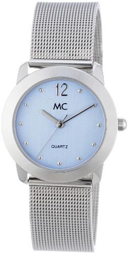MC Timetrend Damen-Armbanduhr Analog Quarz Milanaiseband 15964