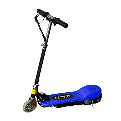 Maxtra® Electric Scooter Bike 24V 120W Nine Color Blue Yellow Red Pink Black Silver Green Rose (Dark Blue)