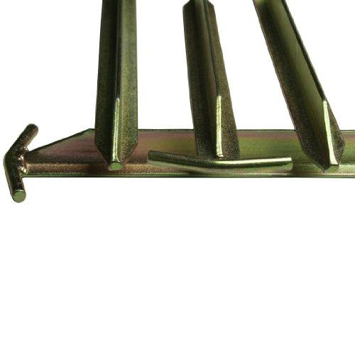 10T Zeltheringe – Stahl T-Profil, 4er-Set - 9