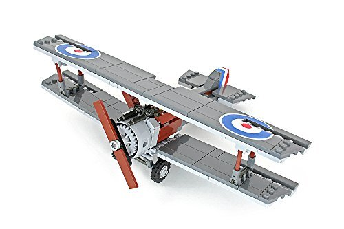 Brickmania 0811868021072 Sopwith Camel Wwi Fighter Aircraft