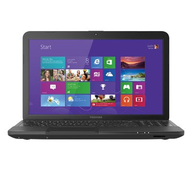Toshiba C855D-S5357 16 inch Laptop (1.3GHz AMD E300 Processor, 4GB RAM, 320GB Hard Drive, Windows 8)