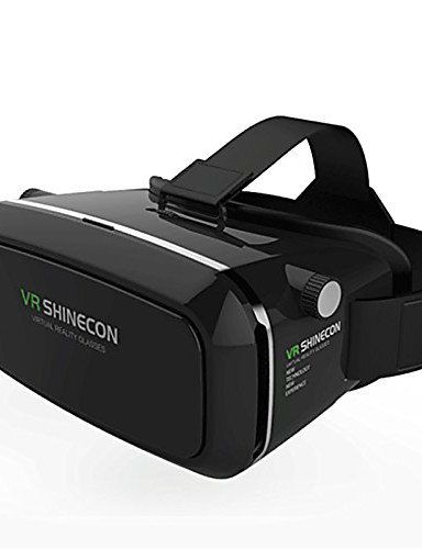 House VR BOX Shinecon Virtual Reality 3D Glasses Cardboard 2.0 VR Headset (Black Color)