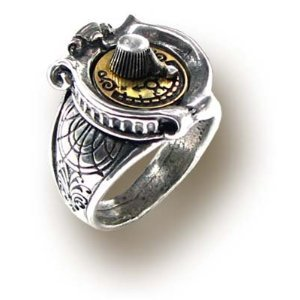 Steampunk Dial Ring - Size 12