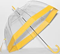 Yellow Trim Bubble Umbrella by Frankford Umbrellas