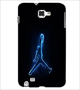 PrintDhaba Digital Boy D-1010 Back Case Cover for SAMSUNG GALAXY NOTE 1 (Multi-Coloured)