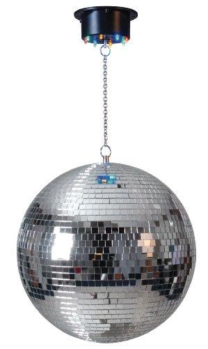 Naeve Leuchten Disco-Kugel / ø 30 cm Höhe: 70 cm, bunt ohne Farbwechsler 5001161