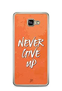 YuBingo Never Give Up Designer Mobile Case Back Cover for Samsung Galaxy A7 2016