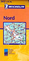 Michelin Map Number 302: Nord - Lille (France) and Surrounding Area, Scale 1:150,000