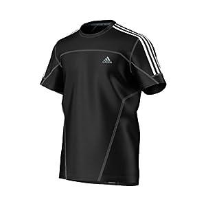adidas Response Men's Short-Sleeved T-Shirt - S, Black