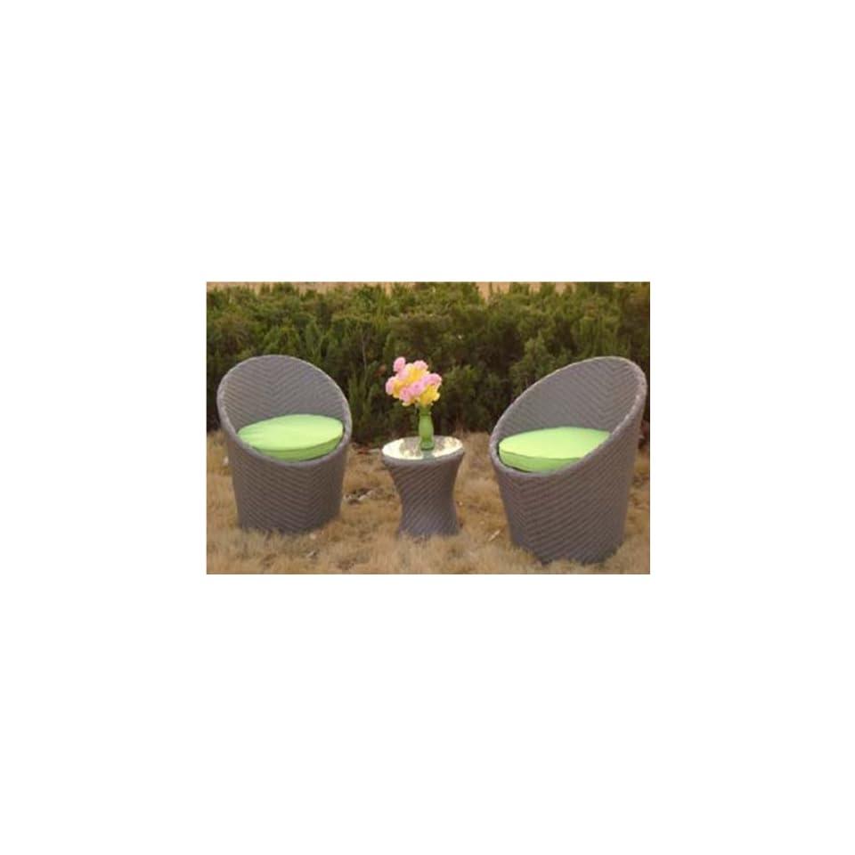 Polyrattan Designer Balkonmobel Silena Garten On Popscreen