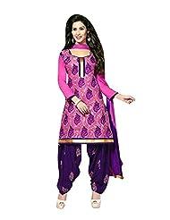 AASRI Women Cotton Unstitched Salwar Suit - B013M0W65G