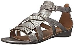 Ecco Footwear Womens Bouillon II Gladiator Dress Sandal, Warm Grey, 39 EU/8-8.5 M US
