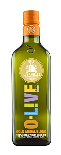 O-Live & Co. - Gold Medal Winner - Chilean Extra Virgin Olive Oil - 16.9 Ounce - Non-GMO