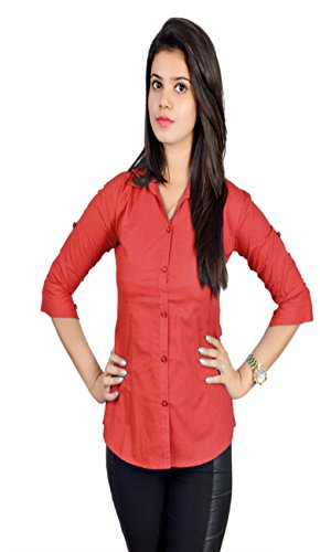 FORMAL-SHIRT-FOR-WOMEN-IN-RED-COLOR