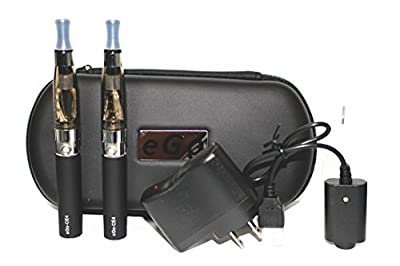 電子タバコ eGo-CE4(E-シーシャ) スターター・キット ハードケース入り セット 【並行輸入 ブラック】