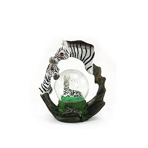 Animal Wildlife Collection Zebra Waterglobe