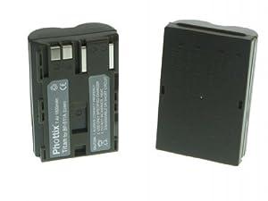 Delamax Batterie haute qualit pour Canon EOS 50d, 40d, 30d, 5d - semblable BP-511A - Accu Battery