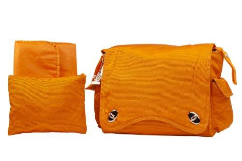 Kalencom Water Repellant Messenger Bag, Pumpkin