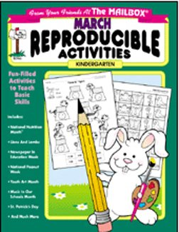 THE EDUCATION CENTER MONTHLY REPRODUCIBLE MARCH GR. K - 1