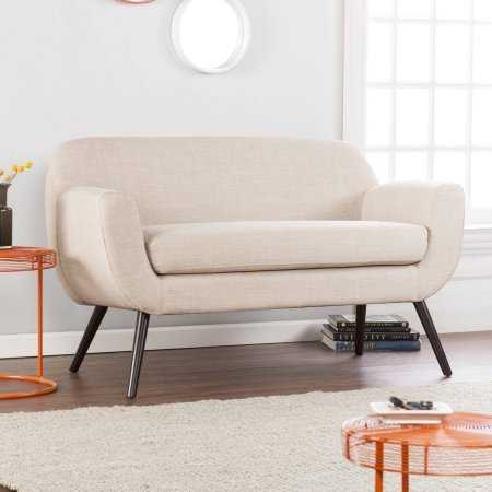 Holly & Martin Supra Loveseat, Make midcentury modern magic with classic spindle legs and vintage chic silhouette 0
