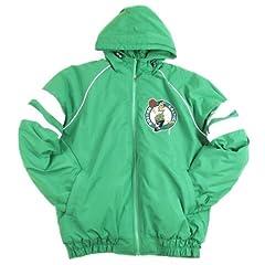 Boston Celtics Hooded Winter Coat Jacket - Green by NBA