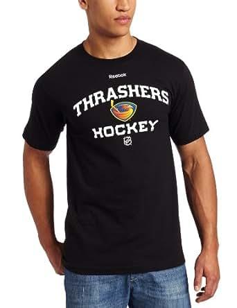 NHL Atlanta Thrashers Authoritative Dark Navy Short Sleeve Tee (Dark Navy, X-Large)
