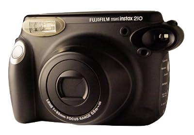 Fujifilm Instax 210 Sofortbildkamera (Blitz, Objektiv mit 2 Gruppen)