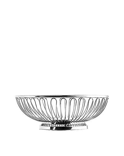 Guy DeGrenne Round Hotellerie Wire Bread Basket, Mirror