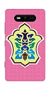 UPPER CASE™ Fashion Mobile Skin Decal For Nokia Microsoft Lumia 820 [Electronics]