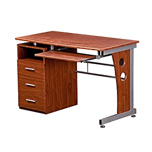 Amazon.com: Techni Mobili RTA-3520 Computer Desk with Storage: Office Products