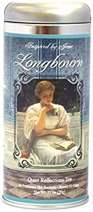 Elizabeth Bennet's Longbourn – Chamomile, Lavender, Lemon and Mint Tea in a Beautiful Artistic…