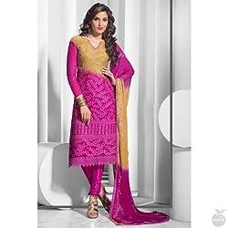 StarMart Pure Chiffon Salwar Kameez DrSMs Material SM1207