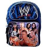 WWE Large Backpack - Wrestling Bakcpack (Blue)