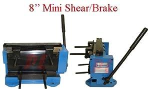 """8"""" Metal Mini Bending Shear and Brake Bender"""