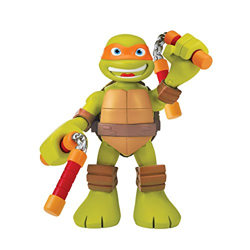 Teenage Mutant Ninja Turtles Pre-Cool Half Shell Heroes 6 Inch Michelangelo Talking Turtles Figure - 1