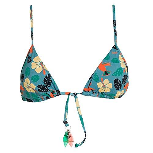 Blugirl Regg.Triangolo Coppa Estraib, Bikini Top Donna, Multicolore, 42