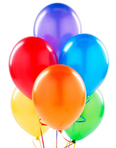 "144 11"" Balloons - Assorted Colors"