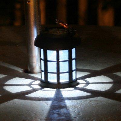 Smart Solar 3782Wrm2 Black Umbrella Hanging Solar Lantern, 2-Pack (Discontinued By Manufacturer)