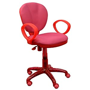 Desk Chair in Pink - WL-1156-PINK-GG