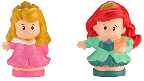 Fisher-Price Little People Disney 2 Pack: Ariel and Aurora - 1